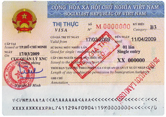Vietnam Visa On Arrival (VOA)