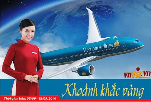 Khoảnh khắc vàng số 13 của Vietnam Airlines