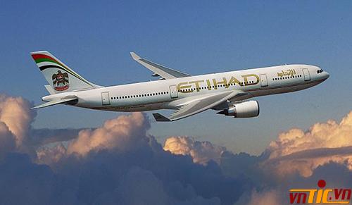 Etihad Airways khuyến mãi các hạng vé phổ và thương gia đến Châu Âu - Mỹ - Trung Đông