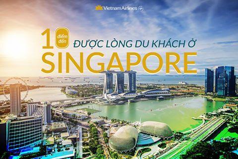 10 đểm đến xinh lung linh khiến thần linh cũng muốn check-in 1 lần khi đến Singapore